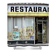 Apollo Eleven Restaurant Shower Curtain