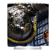 Apollo Mission Space Craft Shower Curtain