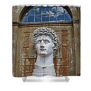 Apollo Statue At The Vatican Shower Curtain