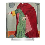 Apothecary, 15th Century Shower Curtain