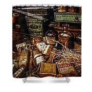 Apothecary  Shower Curtain