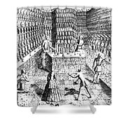Apothecary Shop, 1688 Shower Curtain