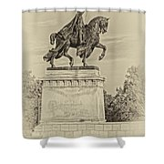 Apotheosis Of St Louis Dsc01150 Shower Curtain