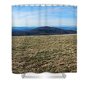 Appalachain Trail Bald Shower Curtain