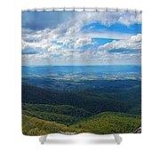Appalachain Trail View Shower Curtain