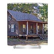 Appalachian Cabin Shower Curtain