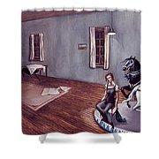 Appalachian Carousel Shower Curtain