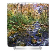 Appalachian Highlands Shower Curtain