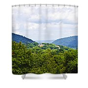 Appalachian Mountains West Virginia Shower Curtain