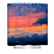 Appalachian Sunset Shower Curtain