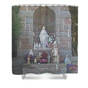 Apparition Of Virgin Mary Shower Curtain