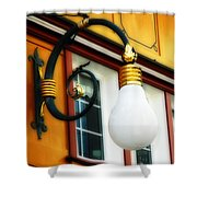 Appenzell's Swiss Lamp Store Shower Curtain