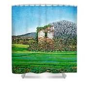 Appia Antica, House, 2008 Shower Curtain
