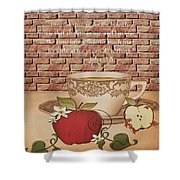 Apple Cider Shower Curtain