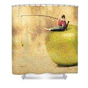 Apple Dream Shower Curtain