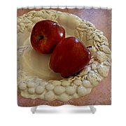 Apple Still Life 1 Shower Curtain