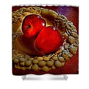 Apple Still Life 2 Shower Curtain