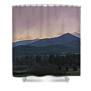 Applegate Valley Se Winter Evening Shower Curtain