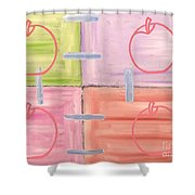 Apples 1 Shower Curtain