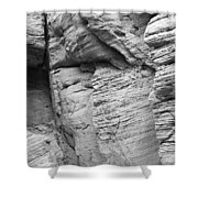 Approach To Tent Rocks Shower Curtain