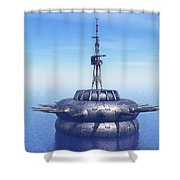 Approach With Extreme Caution Shower Curtain