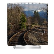 Approaching Grants Pass 1 Shower Curtain