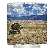 Approaching Great Sand Dunes #2 Shower Curtain