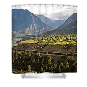 Approaching Lillooet Shower Curtain