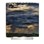 Approaching Storm Shower Curtain by Douglas Barnard
