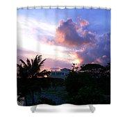 Approaching Storm Palmas Del Mar Shower Curtain