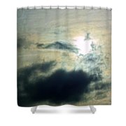 Approaching The Moon Shower Curtain