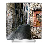 Apricale.italy Shower Curtain