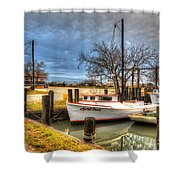 April Dawn Poquoson Virginia Shower Curtain