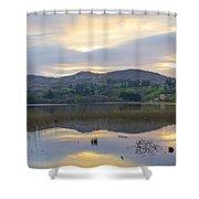 April In Donegal - Lough Eske Shower Curtain