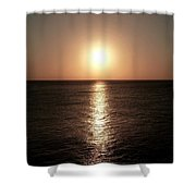 April Sunset Shower Curtain