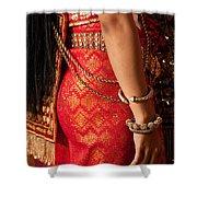 Apsara Dancer 02 Shower Curtain