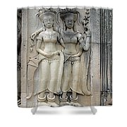 Apsaras Shower Curtain