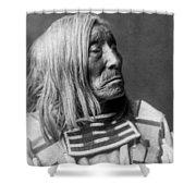 Apsaroke Native Indian Circa 1908 Shower Curtain