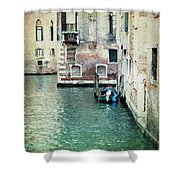 Aqua - Venice Shower Curtain