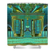Aqua House 2 Shower Curtain
