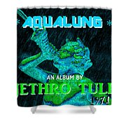Aqualung 1971 Shower Curtain