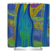 Aquarius By Jrr Shower Curtain