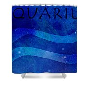 Aquarius Shower Curtain