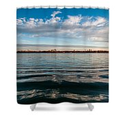 Aquatic Hypnotic Shower Curtain