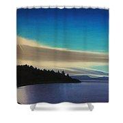 Aquatic Park Shower Curtain