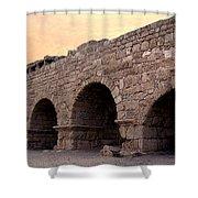 Aqueduct At Caesarea   Shower Curtain