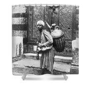 Arab Waterboy, C1900 Shower Curtain