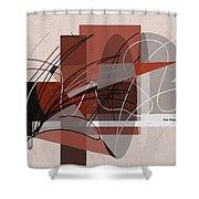 Arabescos 2 Shower Curtain