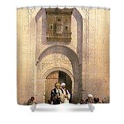 Arabesque Cairo Shower Curtain