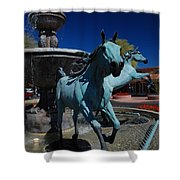 Arabian Horse Sculpture Shower Curtain